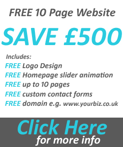 free 10 page website offer