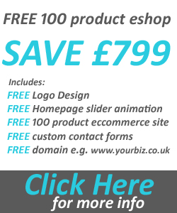 free 100 product ecommerce website