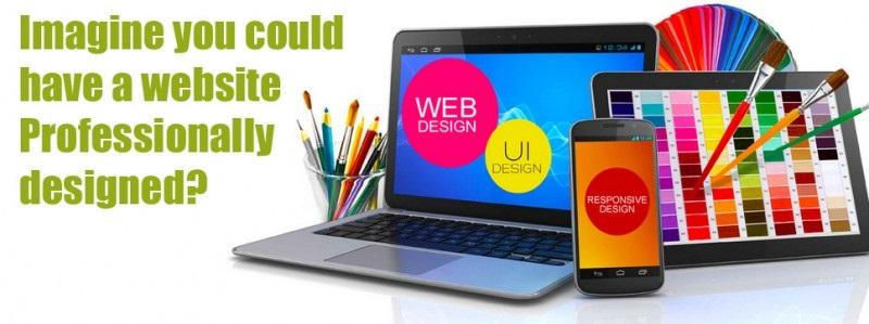 Free web design service