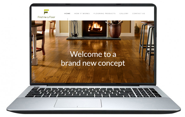 Free website Design Example 10 - Find Me A floor NI