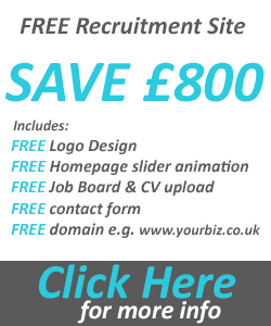 FREE recruitment website offer