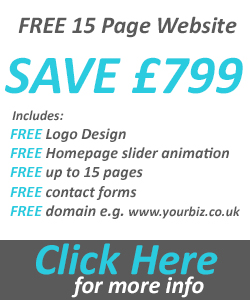 Free 15 Page website offer