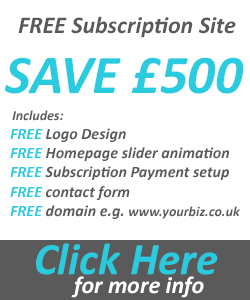 Free subscription website offer