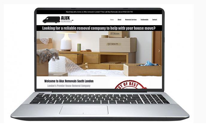 Free website design uk - ALUX Removals