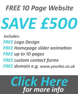 free 10 page website design offer