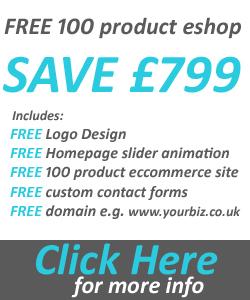 free 100 product ecommerce website