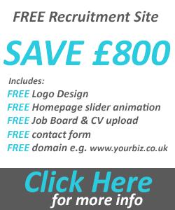 FREE recruitment website offer