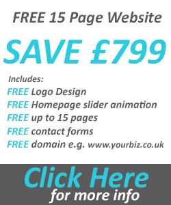 Free 15 Page website design offer