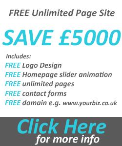 Free Unlimited Pages Website Design Offer