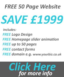 Free 50 page website design offer