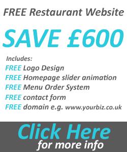 free restaurant takeaway website offer