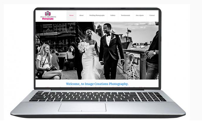 Free website design uk - Image Creations Photography