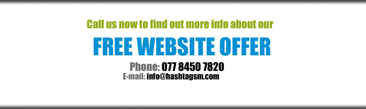Contact Us about our FREE Website Design Offer